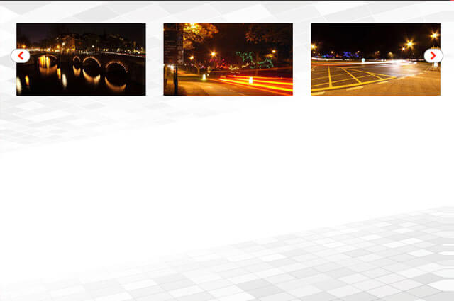 Responsive jQuery Thumbnail Image Carousel - Css3 Transition