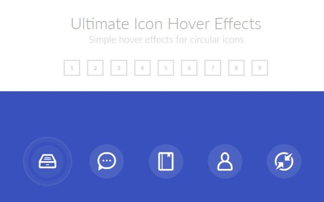 Ultimate Icon Hover Effect using css3